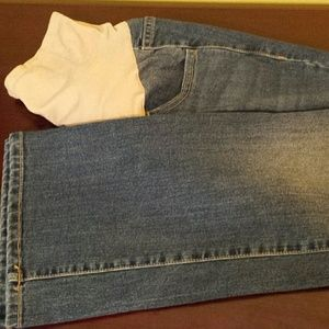 Old Navy Maternity jeans.